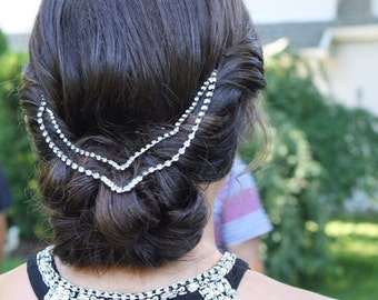 Crystal hairpiece