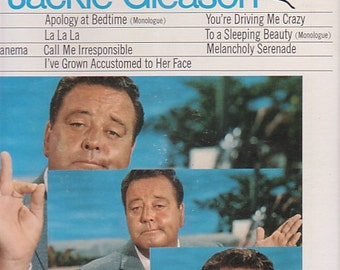 Jackie Gleason Signed Autographed The Best Of Jackie Gleason Album Jacket with 33 RPM LP Record