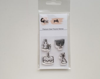 Clear Stamps_ mini _ party _ 020