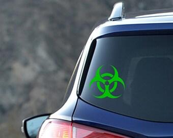 Biohazard Emblem Vinyl Decal