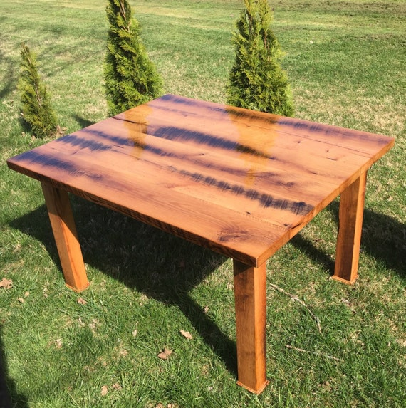 Barnwood Dining Room Tables: Barnwood Farmhouse Table Rustic Dining Table Kitchen