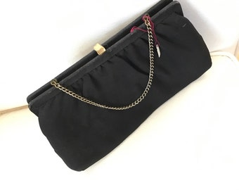 Vintage Black Womans Purse