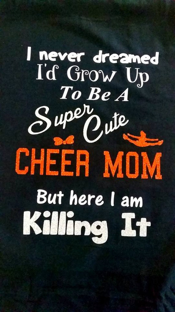 Cheer Mom Shirt by Bows2ToesGear on Etsy |Cheer Mom Shirts Sayings
