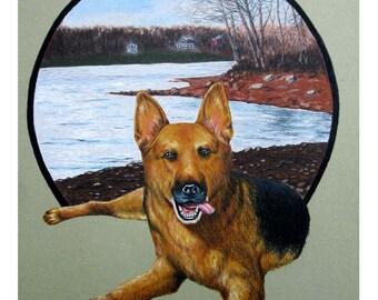 Animal Art, Art Print, Giclee Print, Animal Wall Decor