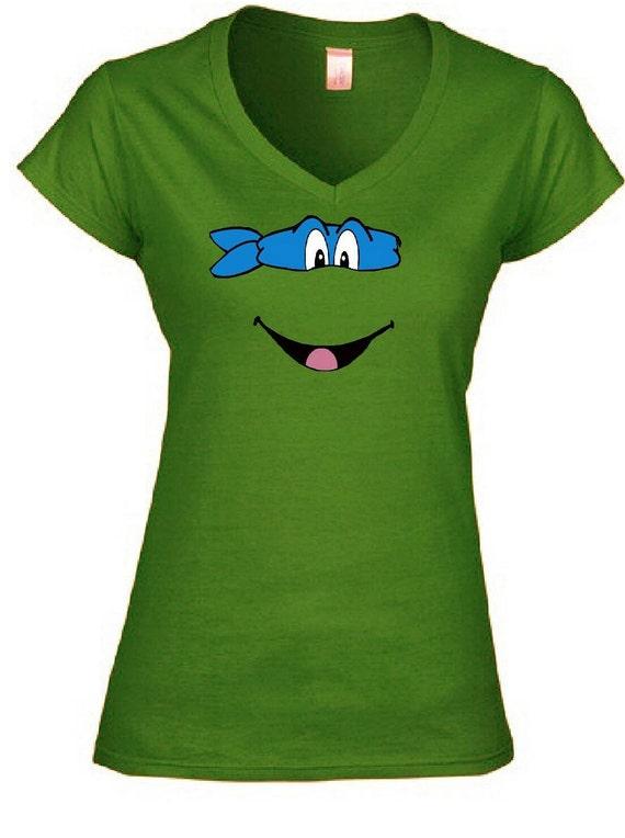 Teenage Mutant Ninja Turtles Women 39 S Vneck Shirt By