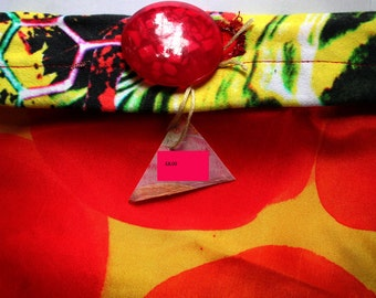Abstract Purse/Clutch bag