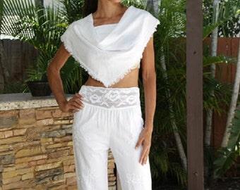 100% Organic Cotton Soft and Chic Scarf  Shawl