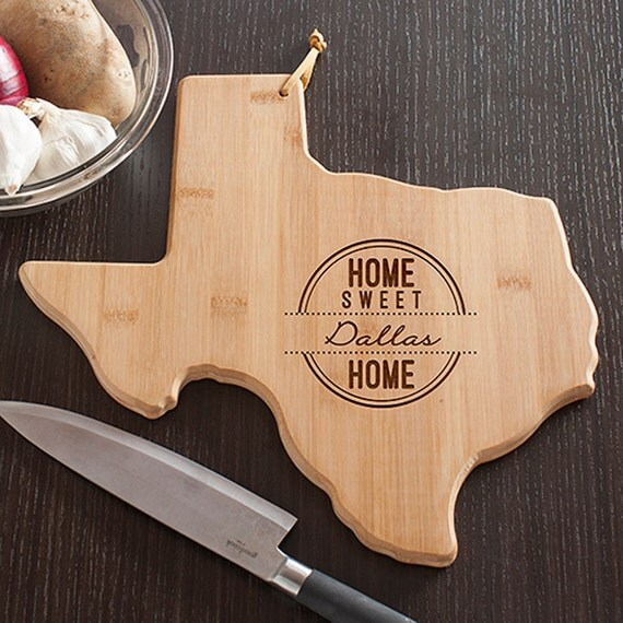 Texas Gifts Gift Ideas Cutting Board Handcrafted In Texas