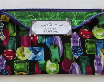 Persette #33 Personalized Zippered Organizing Pouch