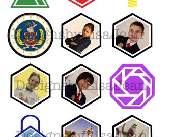 34 Odd Squad Cupcake Toppers