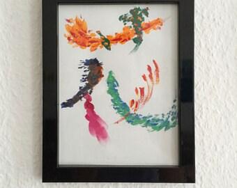 Painting - 花 / Flower