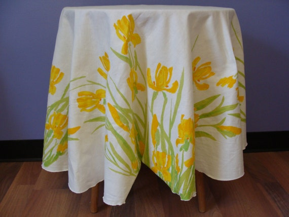 Vintage Tablecloth 60's