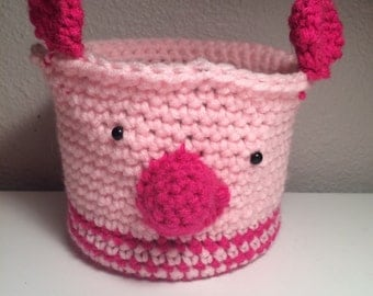 Pig Candle Cozy