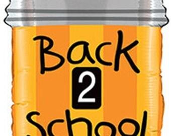 "Pencil Balloon, Back To School Balloon, Back to School Decor, Classroom Decor, Classroom Decoration, Art Class Decor, Back To School, 34"""