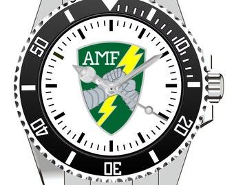 AMF ACE Mobile Force Canada Wappen  KIESENBERG ® Uhr 1017
