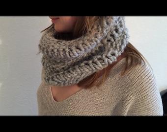 Women's Handmade Knit Scarf