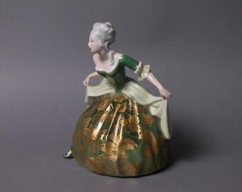 Rosenthal Porcelain Figurine Rococo Dancer # 206 E. Langenmantel Handpainted
