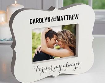 Forever My Always Personalized 5x7 Picture Frame Block
