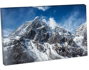 FO0460 Print On Canvas himalayan mountains mount everest Sagarmāthā Chomolungma