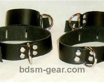 Set of Two  or Four Basic Roller Buckle or Locking Cuffs