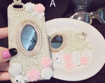 DIY sparkle jewelry phone case kit