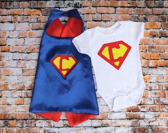 Small Super Hero cape, boys superhero, toddler gift, toddler superhero cape, 1st year birthday gift, two year old gift, birthday cape