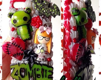Zombie Decoden box for IPhone 5 c