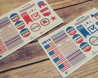 2016 Election Planner Stickers