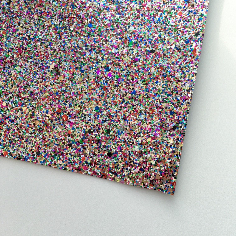 Confetti Glitter Fabric Sheet 8x11 Glitter Sheet By Tulipbloom