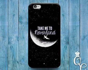 iPhone 4 4s 5 5s 5c SE 6 6s 7 plus iPod Touch 4th 5th 6th Generation Cute Phone Cover Neverland Black White Moon Cool Dream Sky Nice Case