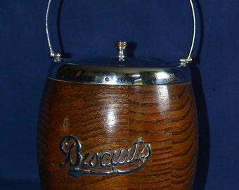 1930's biscuit barrel