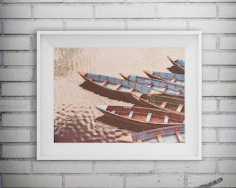 Nature Photography, Nature Art, Lake House Decor, Lake Photography, Boat Photography, Sailing Boat, Printable Ar,t Digital Download