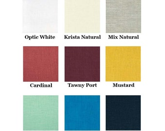 Choose Your Color - 100% Linen Sleeveless Tunic for Hebrew Roots Women w/ Corners for Tzitzit Tassels - Deborah Tunic - Choose Your Color