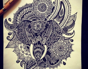 Copy of Adwaya Elephant Head Mandala