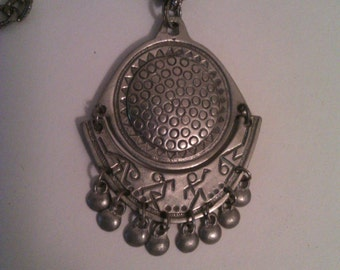 Vintage Eivind Hillestad Pewter Necklace