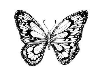 Art print 'Butterfly'