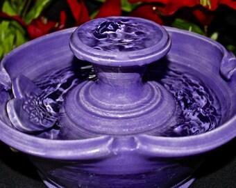 Ceramic Cat Fountain, Cat Fountain,