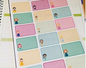 Half box princess planner stickers great for life planner happy planner etc