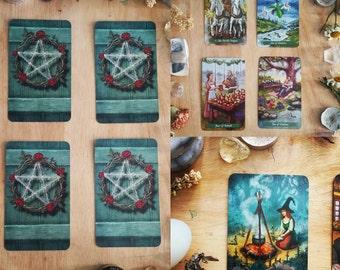 Tarot Reading - Four Card Spread