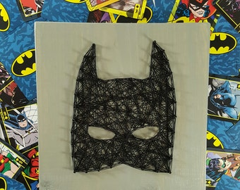 Batman String Art Made to Order Home Decor