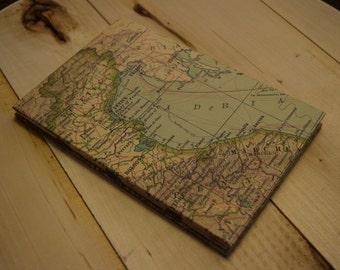 Handmade Map Journal