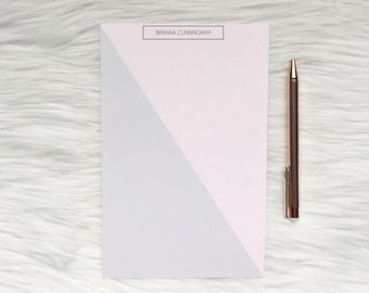 Personalized Notepad / Two Toned Notepad / Custom Notepad / Family Notepad