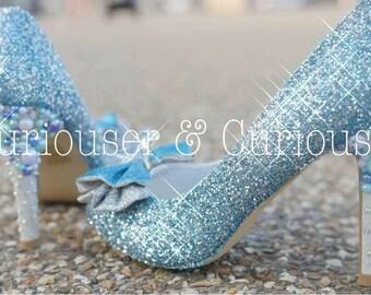 Glass Slippers - Cinderella Inspired Heels