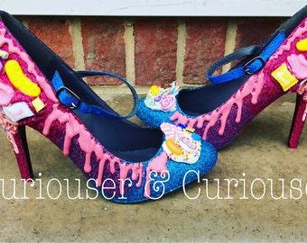 Sugar Attack - Sweet embellished heels