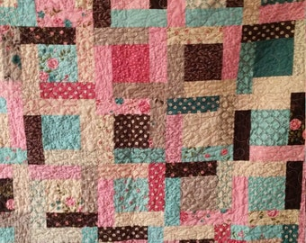 Handmade Lap size quiltI