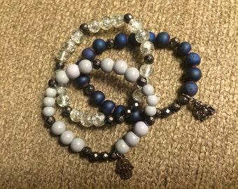 3 bracelet stack