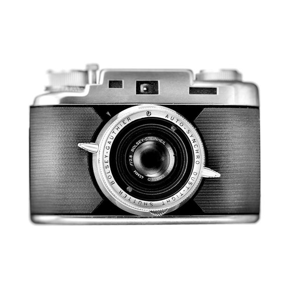 Items similar to industrial chic vintage camera - Camera industrial chic ...