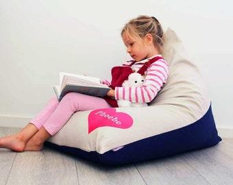 Kids Bean Bag Chairs Etsy