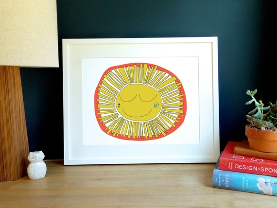Hello Sunshine Archival Print