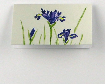 "Mini Gift Cards ""Wispy Iris"" by pattysgardenstudio"